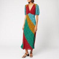 RIXO Women's Amber Maxi Dress - Floral Patch - S