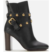 See By Chloe Women's Leather High Heeled Boots - Nero - UK 4