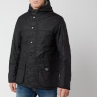 Barbour Beacon Mens Durham Wax Jacket - Black - XXL - Black