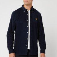 Barbour Beacon Mens Balfour Shirt - Navy - M - Blue