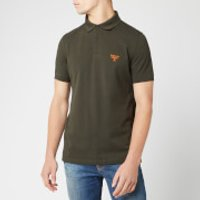 Barbour Beacon Men's Polo Shirt - Forest - M - Green
