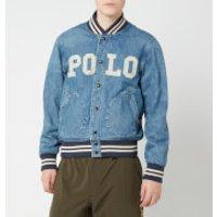 Polo Ralph Lauren Men's Varsity Denim Jacket - Tillman - XXL