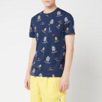 Polo Ralph Lauren Men's Multi Bear T-Shirt - Newport Navy - M