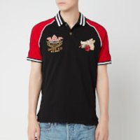 Polo Ralph Lauren Men's Rose and Boar Polo Shirt - Polo Black/Rl2000 Red - XXL
