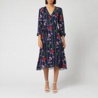 Ted Baker Women's Elowisa Hedgerow Printed Wrap Dress - Dark Blue - 4/UK 14 - Blue