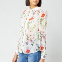 Ted Baker Women's Shivany Hedgerow Printed Shirt - Ivory - 3/UK 12 - Cream