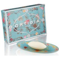 Ortigia Florio Glass Plate & Soap Set