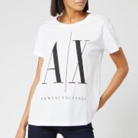 Armani Exchange Women's Logo T-Shirt - White - S - White