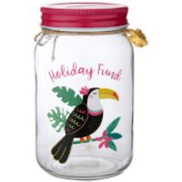 Sass & Belle Toucan Holiday Fund Money Jar - Money Gifts
