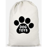Dog Toys Paw Cotton Storage Bag - Large