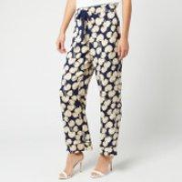 Diane von Furstenberg Women's Braelyn Trousers - New Navy - S - Blue