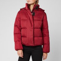 HUGO Women's Fenjas Short Puffa Jacket - Open Red - M - Red