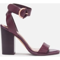 Ted Baker Women's Betciy Block Heeled Sandals - Purple - UK 8