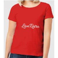 Lanre Retro Lanretro Women's T-Shirt - Red - L - Red