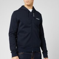 Armani Exchange Men's Zip Through Hoodie - Navy - M - Blue