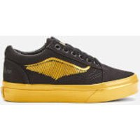 Vans X Harry Potter Kid's Golden Snitch Old Skool Trainers - Black - UK 12 Kids - Black