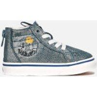 Vans X Harry Potter Toddler's Hogwarts Sk8-Hi Trainers - Blue - UK 9 Toddler - Blue