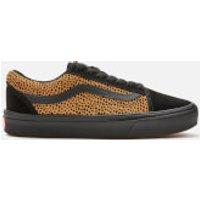 Vans ComfyCush Women's Tiny Cheetah Old Skool Trainers - Black - UK 7 - Black