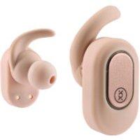 Mixx Streambuds True Wireless Earphones + Charging Dock - Rose Gold - Earphones Gifts