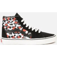 Vans Women's Sk8-Hi Leopard Trainers - Black/True White - UK 3