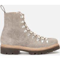 Grenson Women's Nanette Suede Hiking Style Boots - Grey - UK 3 - Grey