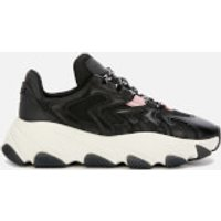 Ash Women's Extreme Chunky Running Style Trainers - Black/Black/Orchid - UK 6 - Black