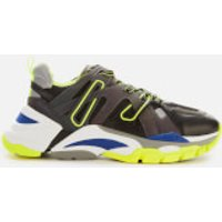 Ash Flash Running Style Trainers - Black/rainbow/silver-fluo Yellow