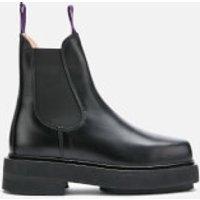 Eytys Ortega Leather Chunky Chelsea Boots - Black - UK 5