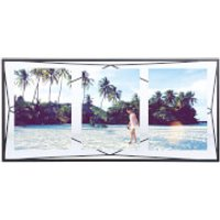 Umbra Prisma Three Photo Frame Display - Black - 6 x 4