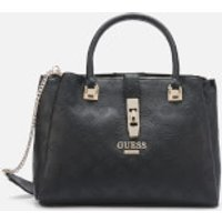 Guess Womens Peony Classic Girlfriend Carryall Bag - Black