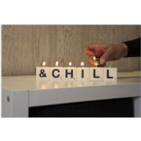 & Chill - Letter Candle Gift Pack