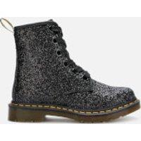 Dr. Martens Women's 1460 Farrah Glitter 5-Eye Boots - Black - UK 5 - Black