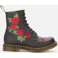 Dr. Martens Women's 1460 Vonda Softy T Leather 8-Eye Boots - Black - UK 4