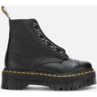 Dr. Martens Women's Sinclair Leather Zip Front Boots - Black - UK 6 - Black