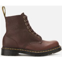 Dr. Martens Men's 1460 Ambassador Soft Leather Pascal 8-Eye Boots - Cask - UK 9