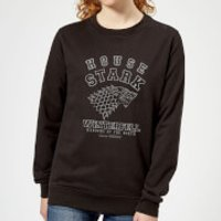 Game of Thrones House Stark Women's Sweatshirt - Black - L - Black