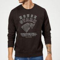 Game of Thrones House Stark Sweatshirt - Black - M - Black