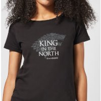 Game of Thrones King In The North Women's T-Shirt - Black - L - Black