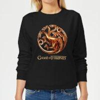 Game of Thrones Bronze Targaryen Women's Sweatshirt - Black - XL - Black