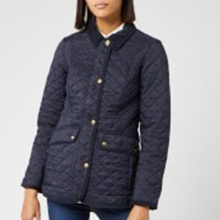 Joules Women's Newdale Quilted Coat - Marine Navy - UK 10