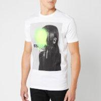 Dsquared2 Men's Portrait T-Shirt - White - XL - White