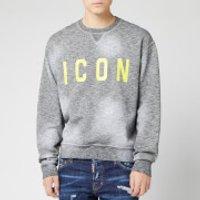 Dsquared2 Men's Icon Sweatshirt - Black/Yellow - M - Black