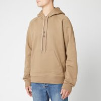 Neil Barrett Men's Triptych Thunderbolt Hoody - Khaki/Black - XL