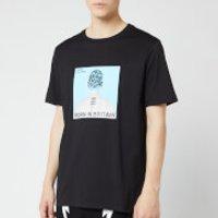 Neil Barrett Men's Cover 02 T-Shirt - Black - XL - Black