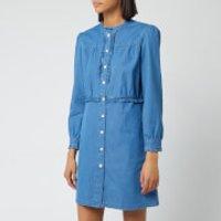 A.P.C. Women's Hoshi Dress - Indigo - FR 38/UK 10 - Blue