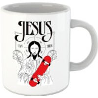 Jesus Can Slide Mug