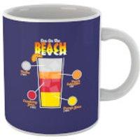 Infographic Sex On The Beach Mug - Beach Gifts