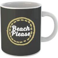 Beach Please Mug - Beach Gifts