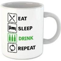 Eat Sleep Game Repeat Mug