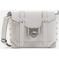 Michael Michael Kors Manhattan Small Messenger Bag - Optic White